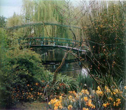 Claude Monets Garden Giverny France Sound of Silence